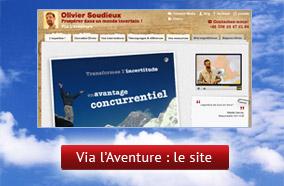 Via l'Aventure : le site