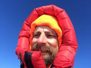 Olivier Soudieux, en expédition