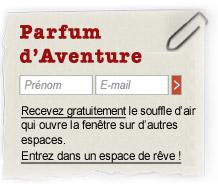 Rejoindre  la  diffusion  de  Parfum  d'Aventure
