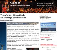 Avancer newsletter