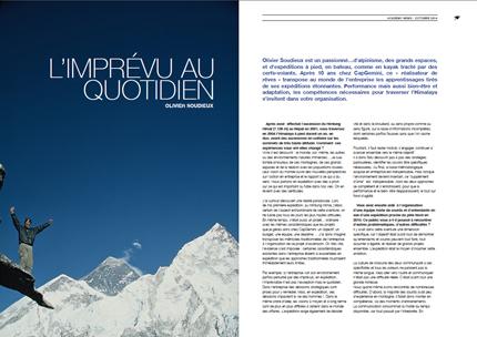 Interview d'Olivier Soudieux par par Speakers Academy